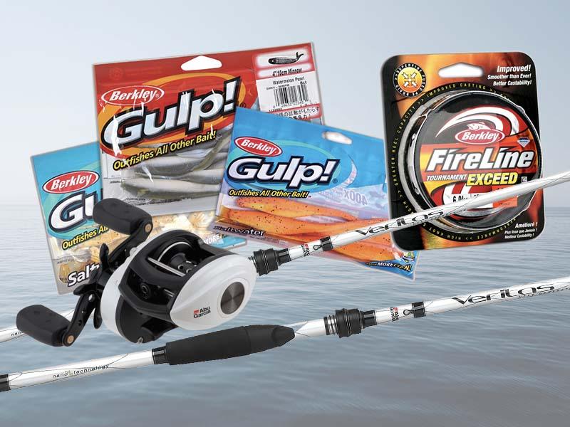 Berkley and Abu Garcia Fishing Pack